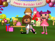 Lady birthday