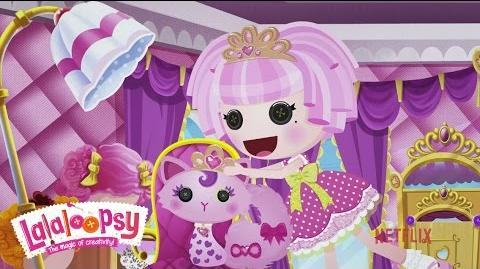Meet Jewel Sparkles We're Lalaloopsy Netflix Original Series