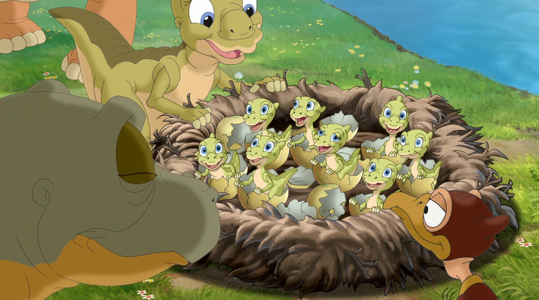 dtv wonders the land before time 14 jounrey of the brave