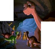 Littlefoot and Tinysauruses