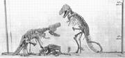 T.rex mount
