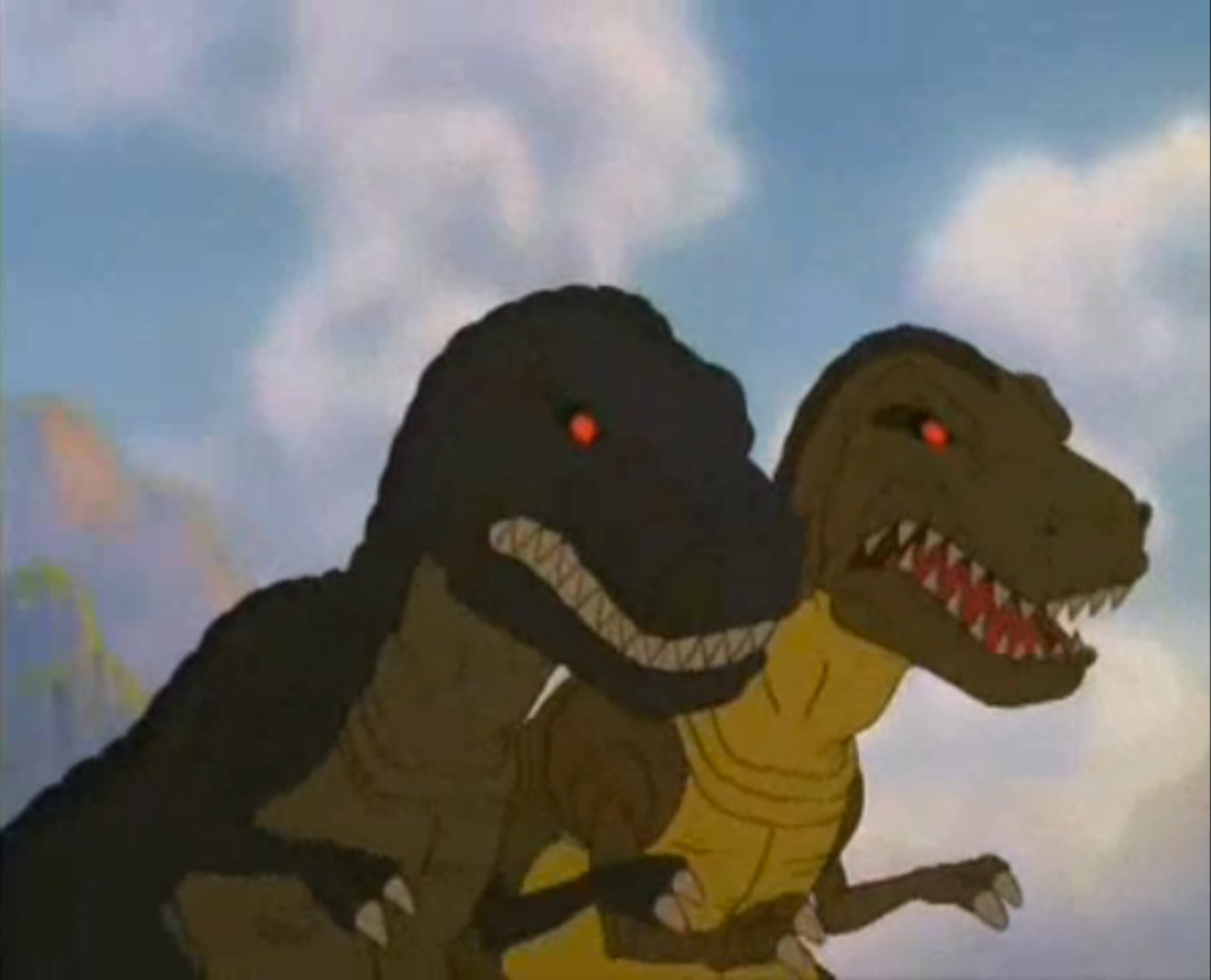 Image Chomper S Mom Amp Dad Jpg Land Before Time Wiki