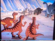 3 Velociraptors in packs