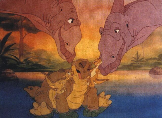 File:The land before time Spike's new family.jpg