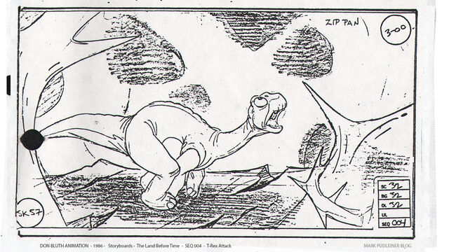 File:Don Bluth Storyboards Land Before Time 057.jpg