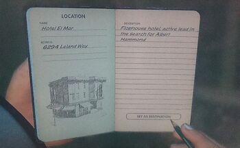 Hotel El Mar—Notebook