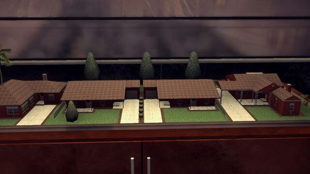 File:4-Rancho Escondido house models at Monroe's Office.jpg