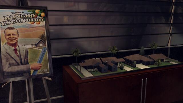 File:5-Rancho Escondido house models at Monroe's Office.jpg