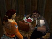 Lara and Dr. Willard