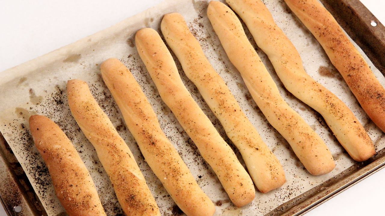 Homemade Breadsticks | Laura in the kitchen Wiki | FANDOM powered by ...