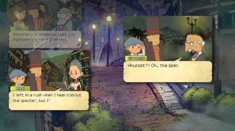 Professor Layton and the Last Specter TGS Trailer