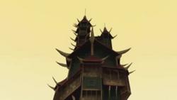 Towering Pagoda Top