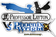 Professor Layton VS Phoenix Wright Logo