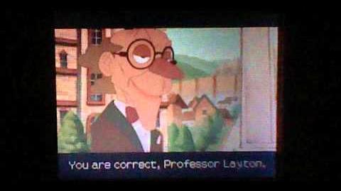 Professor Layton and the Spectre's Call the Last Specter - Cutscene 28 (UK Version)