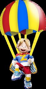 Nick Jr. LazyTown Ziggy with Parachute