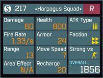 Harpagus Squad R Lv1 Back