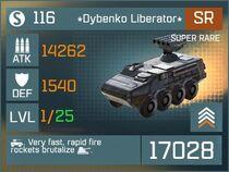 Dybenko Liberator SR Lv1 Front