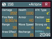 Arion R Lv1 Back