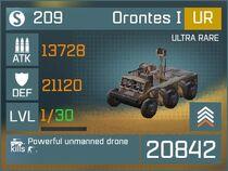 Orontes I UR Lv1 Front