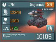 Sejanus SR Lv1 Front
