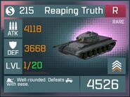 Reaping Truth R Lv1 Front
