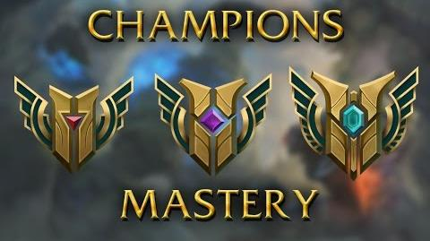 LoL Animations - Champions mastery