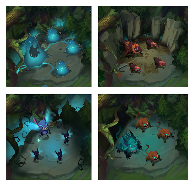 Summoner's Rift Update Creature Wraith Camp 2