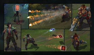 Graves & Twisted Fate Bilgewater Smugglers Screenshots