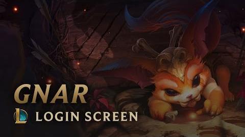 Gnar, the Missing Link - Login Screen