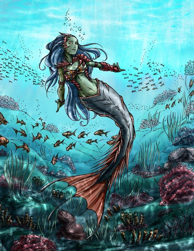 Nhan-Fiction Coral Cerule (R)