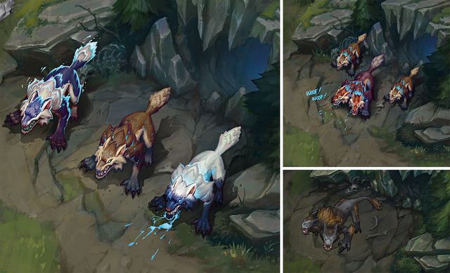 Summoner's Rift Update Creature Wolves