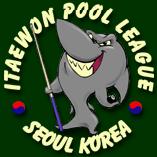 Itaewon Pool League Logo