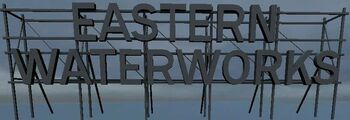 Eastern Waterworks sign