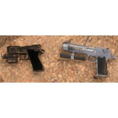 La Magnum y la Pistola P220