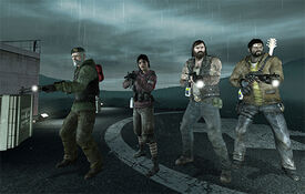 Old l4d survivors