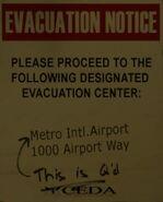 CEDA Metro Notice