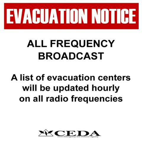File:Sign evacuation radio display.jpg