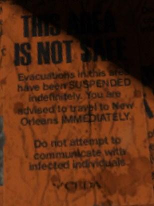 File:Not Safe sign Ducatel.jpg