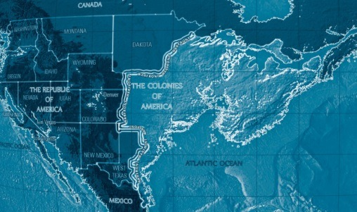 Top Wednesday Favourite Maps - Dystopian us map