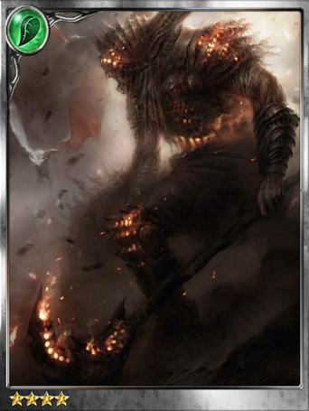 (Petrify) Enraged Chronos