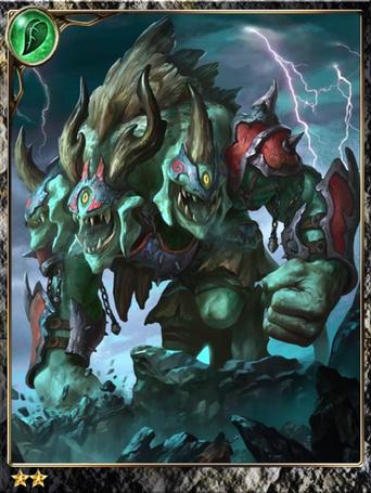 (Stout) Tri-headed Ogre Rebel