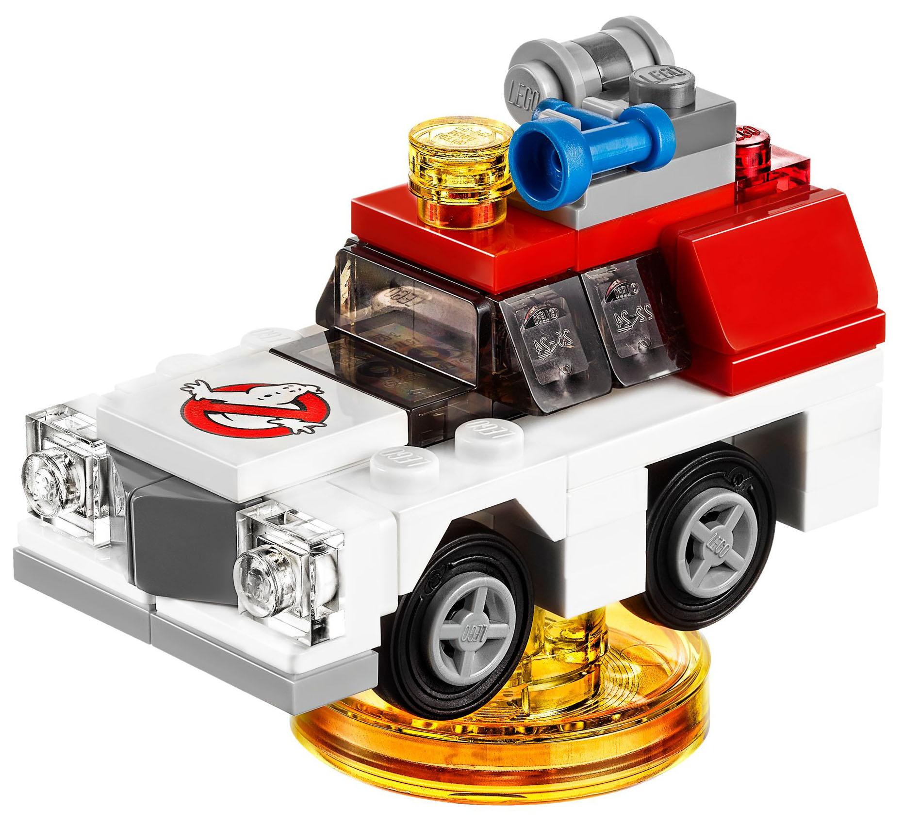 Lego Dimension Ecto Build