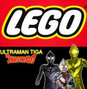 LEGO Ultraman Tiga ( Europe Version )