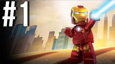 Lego Marvel Superheroes Walkthrough Part 1 Let's Play Gameplay Playthrough XBOX360 PS3 PC
