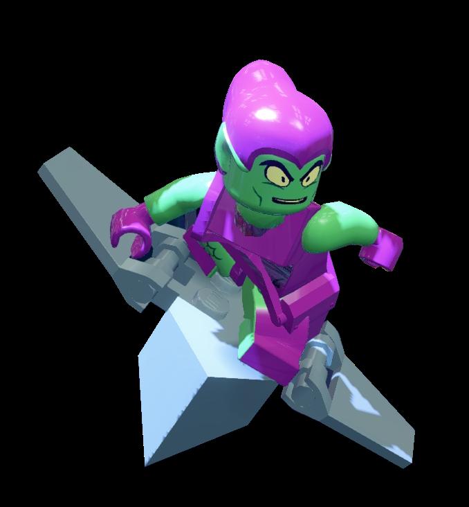 Ultimate Hobgoblin Vs Green Goblin Green Goblin | LEGO Ma...