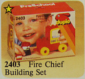 2403-Fire Chief Building Set