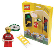 Speech bubbles with minifig
