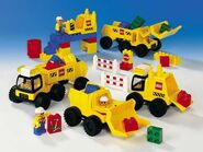 9128 DUPLO Big Wheelers