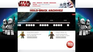 Lego.com HB archives (re-vamp - CW S2 -red-) web page