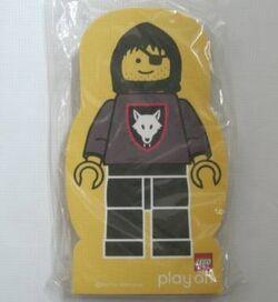 4229646-Memo Pad Minifig - (Y) Wolf People (Wolfpack)